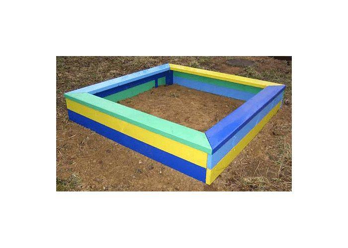 Песочница для участка детского сада своими руками